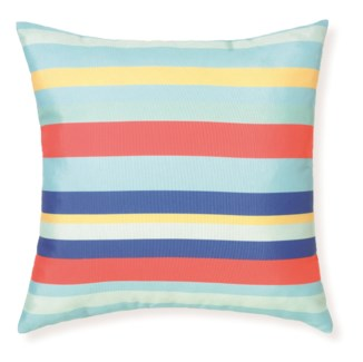 Rapee Riviera Morei Aqua Pillow 18x18 (Outdoor)