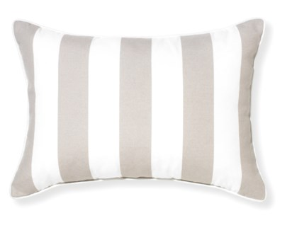 Rapee Riviera Stripe Cement Pillow 14x20 (Outdoor)
