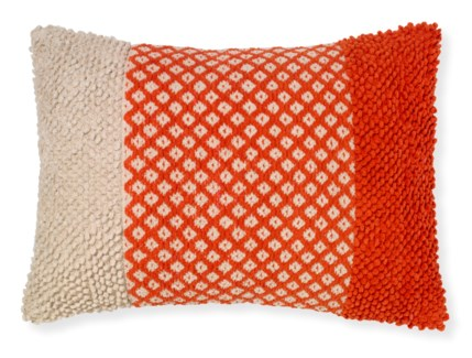 Rapee Tigerlily Coral Cushion 16x24