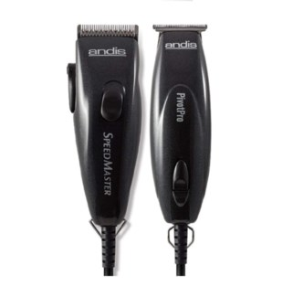 ANDIS PIVOT TRIMMER CLIPPER COMBO - BLACK