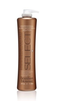 BRAZILIAN BLOWOUT SELECT ULTRA SMOOTHING SOLUTION 34OZ