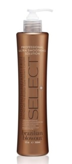BRAZILIAN BLOWOUT SELECT ULTRA SMOOTHING SOLUTION 12OZ