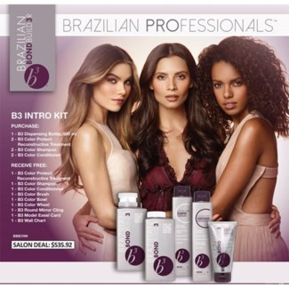 BRAZILIAN BLOWOUT B3 INTRO KIT