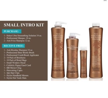 BRAZILIAN BLOWOUT SMALL INTRO KIT//2017