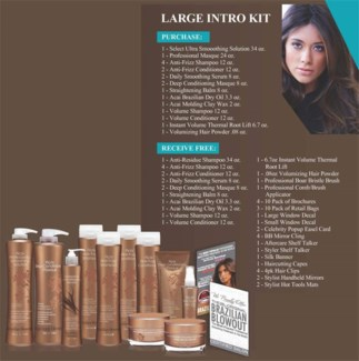 BRAZILIAN BLOWOUT LARGE INTRO KIT