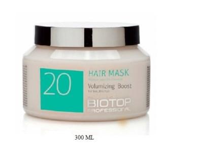 BIOTOP 20 VOLUMIZING BOOST HAIR MASK 350ML