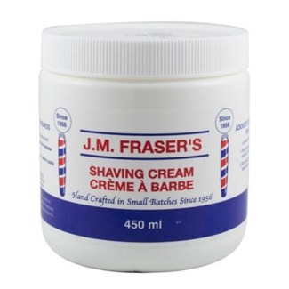JM CAMPBELLS LIQUID SHAVING CREAM 8oz