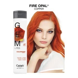 CL GEM LITES FIRE OPAL SHAMPOO 244ML / 8.25OZ