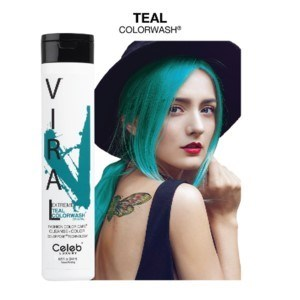 CL VIRAL SHAMPOO EXTREME TEAL 244ML / 8.25OZ
