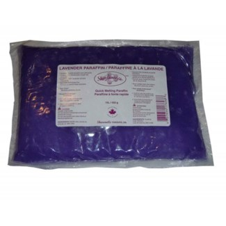SHARONELLE 1LB LAVENDER PARAFFIN WAX 450G BAG