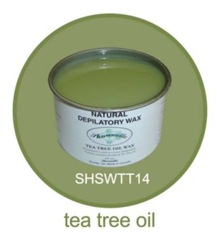 SHARONELLE TEA TREE OIL WAX 14OZ