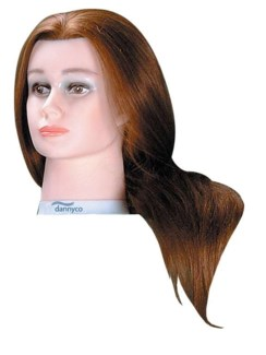 DA DELUXE MANNEQUIN HEAD, EXTRA LONG, SYNTHETIC