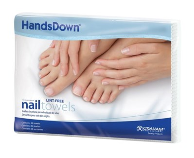 NAIL CARE TOWELS  50 PK
