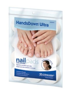 "DA NAIL & COSMETIC PADS 1.75""RD 60/BAG (580003)"