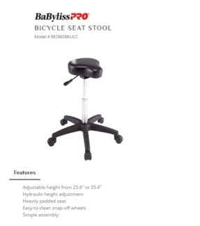 DA BP BICYCLE STOOL BLACK