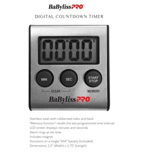 DA DIGITAL COUNTDOWN TIMER