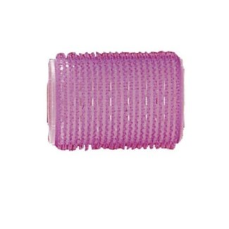 DA BP SELF GRIPPING VELCRO ROLLERS PURPLE/35MM BAG OF 6