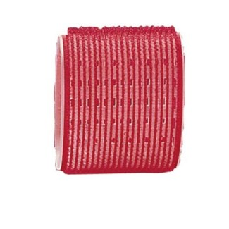 DA BP SELF GRIPPING VELCRO ROLLERS RED/65MM BAG OF 6