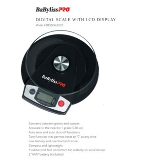 DA DIGITAL SCALE W/ GRAM OR OUNCE DISPLAY