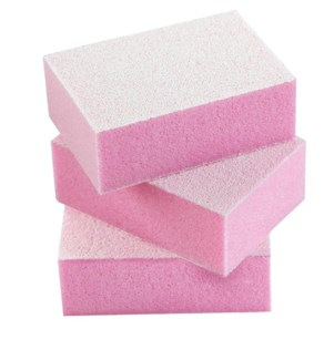 DA MINI NAIL BUFFING BLOCKS 50/PKG - PINK (150/150 GRIT)