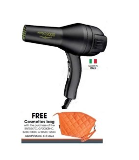 DA AV BOHEMIAN CHIC ITALIAN HAIRDRYER (LE) W/ ORANGE BAG