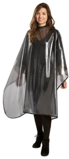 DA ALL PURPOSE CAPE W/ MESH MOTIF