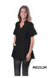 DA STYLISH SPA JACKET BLACK - MEDIUM