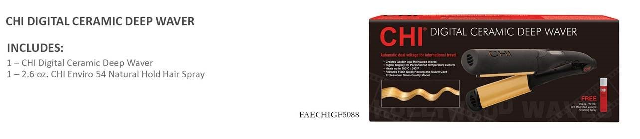 FA CHI DIGITAL CERAMIC DEEP WAVER