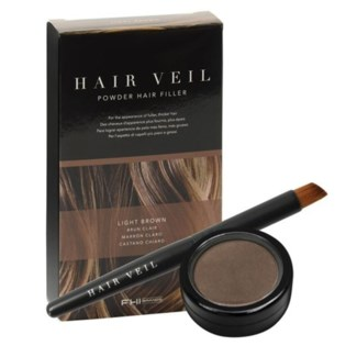 FHI HAIR VEIL LGT BROWN POWDER HAIR FILLER