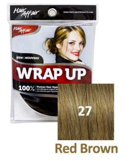 FIRST LADY HAIR AFFAIR WRAP UP #27 RED BROWN
