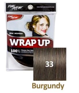 FIRST LADY HAIR AFFAIR WRAP UP #33 BURGUNDY
