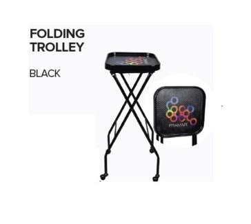 FRAMAR FOLDING TROLLEY - BLACK