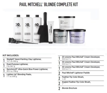 PM BLONDE COMPLETE KIT (BCK17)//2018 - PREPACKED