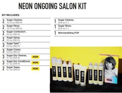 PM NEON ONGOING SALON KIT (NSDSLC18)//2018
