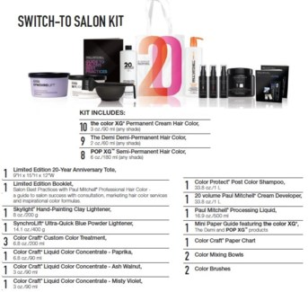 PM SWITCH-TO SALON KIT (PHTBSL18)//2018