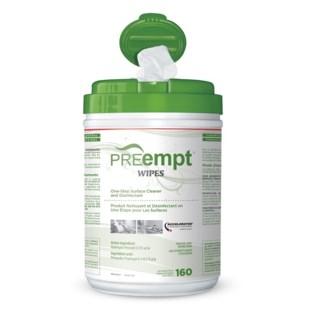 """KL PREempt  RTU WIPES 6"""" X 7"""" PREMOIST160 SHEETS (OLD TB)"""