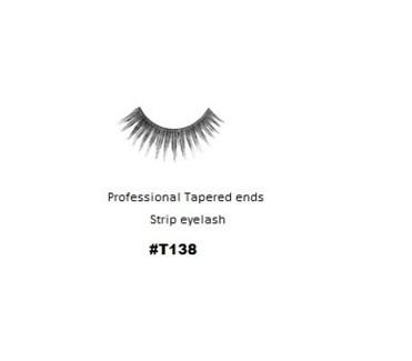 KASINA PRO LASH - TAPERED ENDS - STRIP EYELASH #T138-1 SET
