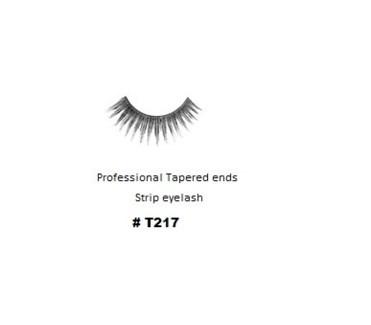 KASINA PRO LASH - TAPERED ENDS - STRIP EYELASH #T217-1 SET