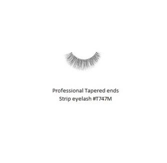 KASINA PRO LASH - TAPERED ENDS - STRIP EYELASH #T747M-1 SET