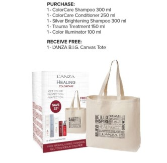 L'ANZA CARE FOR YOUR COLOR W/ TOTE//JA'18