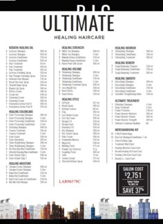 L'ANZA ULTIMATE HEALING HAIRCARE COLLECTION //2017