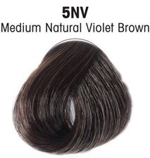 L'ANZA HC 5NV MEDIUM NATURAL VIOLET BROWN 90ML