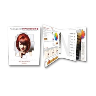 L'ANZA HEALING COLOR SWATCH BINDER (19338E)//2017