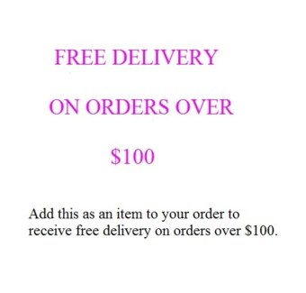 FREE DELIVERY ON MILTON ORDERS OVER $100 (BEFORE TAXES)