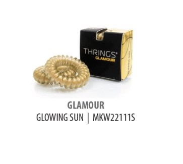 THRINGS - HAIR RINGS - GLAMOUR - GLOWING SUN - 2PC