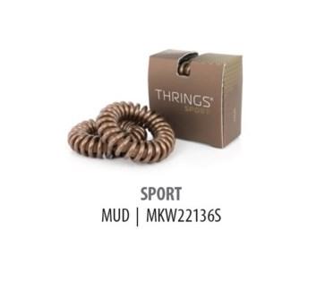THRINGS - HAIR RINGS - SPORT - MUD - 2PC
