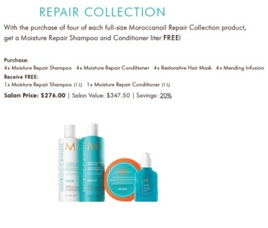 MO REPAIR COLLECTION INTRO PACKAGE//2018