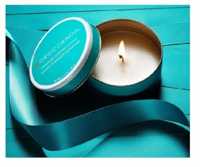 MOROCCANOIL TIN CANDLE