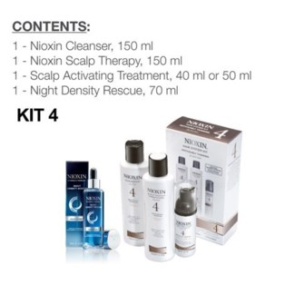 NIOXIN SYSTEM 4 COMPLETE DAY AND NIGHT REGIMEN