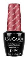 OPI GELCOLOR RED HOT RIO // BRAZIL